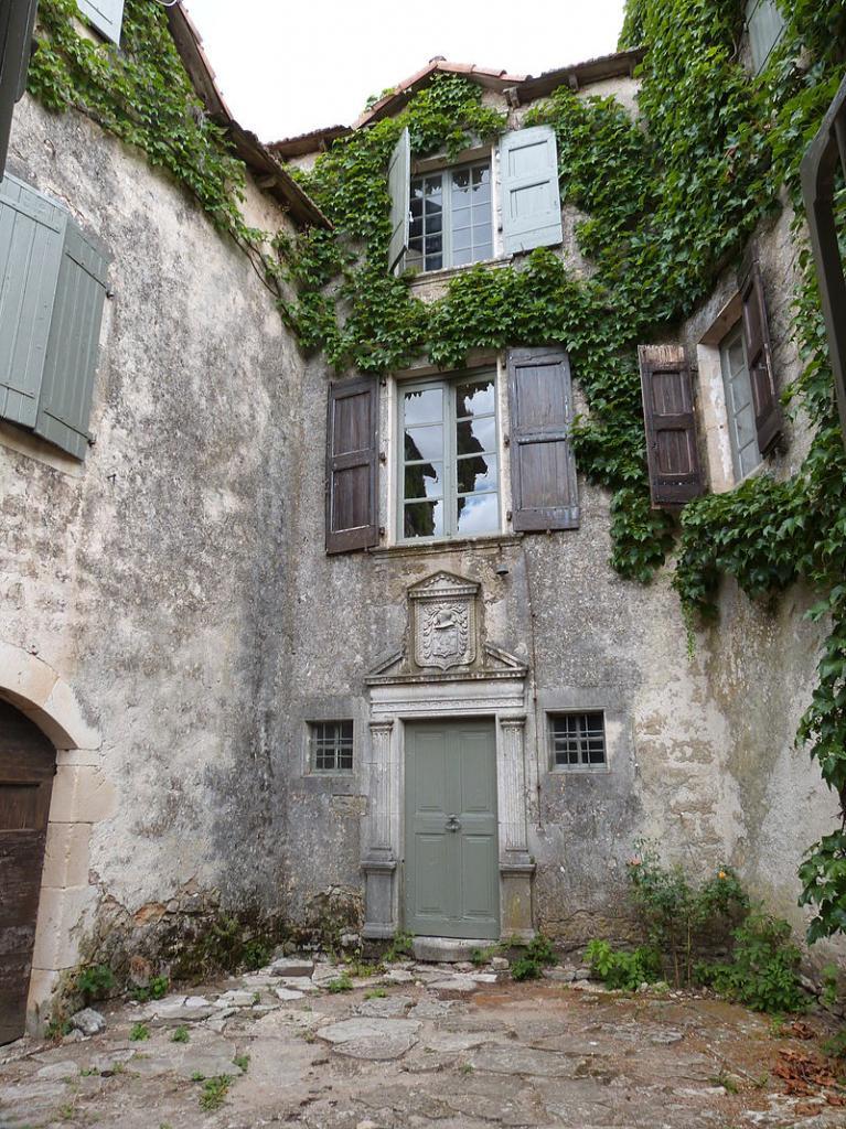 La Couvertoirade (Aveyron) L'Hôtel de Grailhe