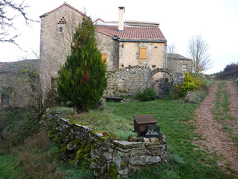La Couvertoirade (Aveyron) La Portalerie