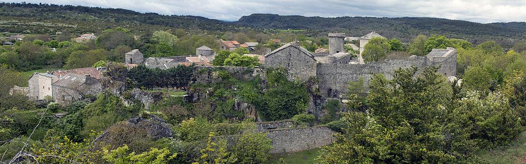 La Couvertoirade (Aveyron) Panoramique