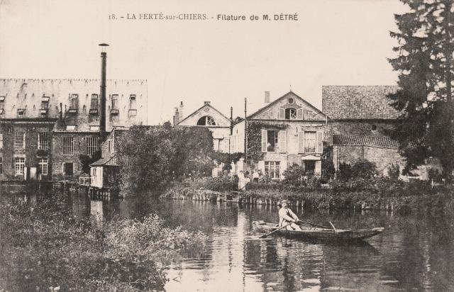 La Ferté-sur-Chiers (08) Filatures CPA