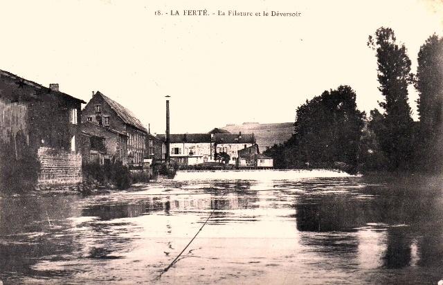 La Ferté-sur-Chiers (08) Filatures et déversoir CPA