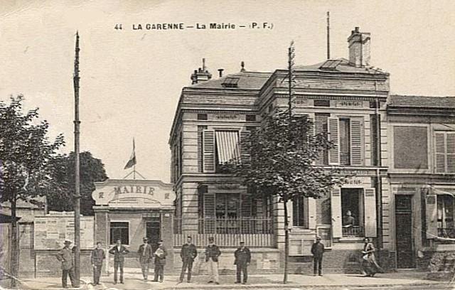 La garenne colombes 92 l ancienne mairie cpa