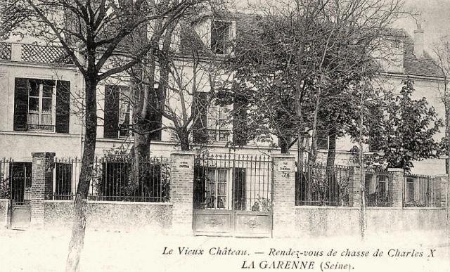 La garenne colombes 92 vestiges des dependances du chateau de la garenne cpa