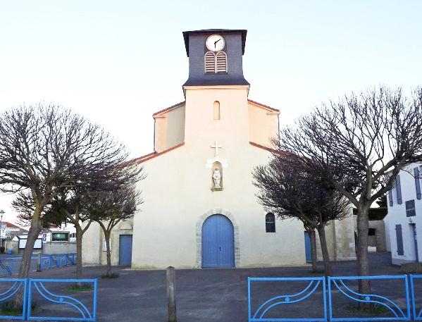 La Guérinière (Vendée) Eglise N-D de Bonsecours