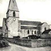 La Rochepot (Côte d'Or) L'église Notre-Dame de la Nativité CPA