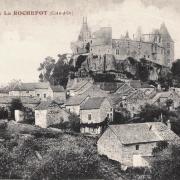 La Rochepot (Côte d'Or) Le château CPA