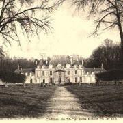 Lavilletertre oise cpa chateau saint cyr