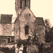 Lavilletertre oise cpa eglise nd de la nativite 1908
