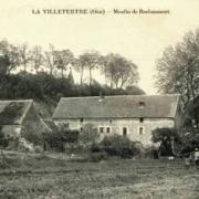 Lavilletertre oise cpa moulin de bachaumont