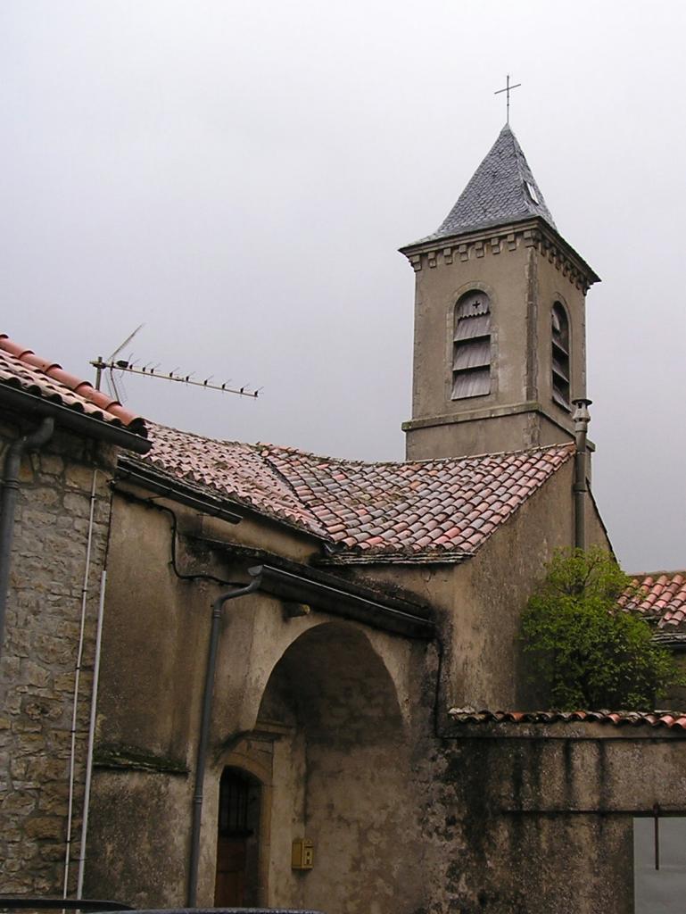 Le Clapier (Aveyron) L'église