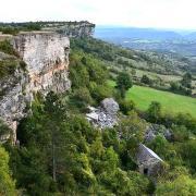 Le Clapier (Aveyron) La Pascalerie, éboulement