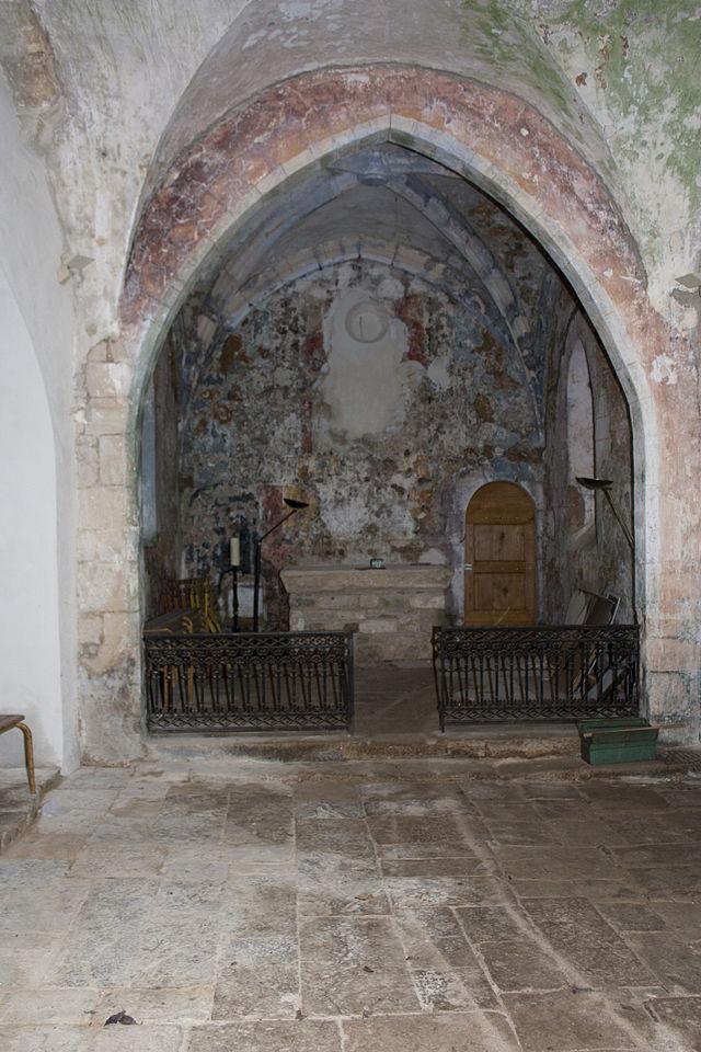 Le Clapier (Aveyron) Saint-Xist, abside de l'église