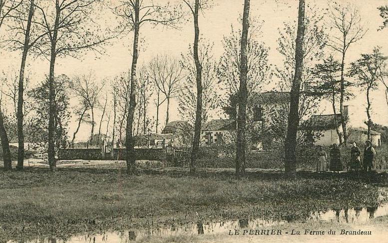 Le Perrier (Vendée) La ferme du Brandeau CPA