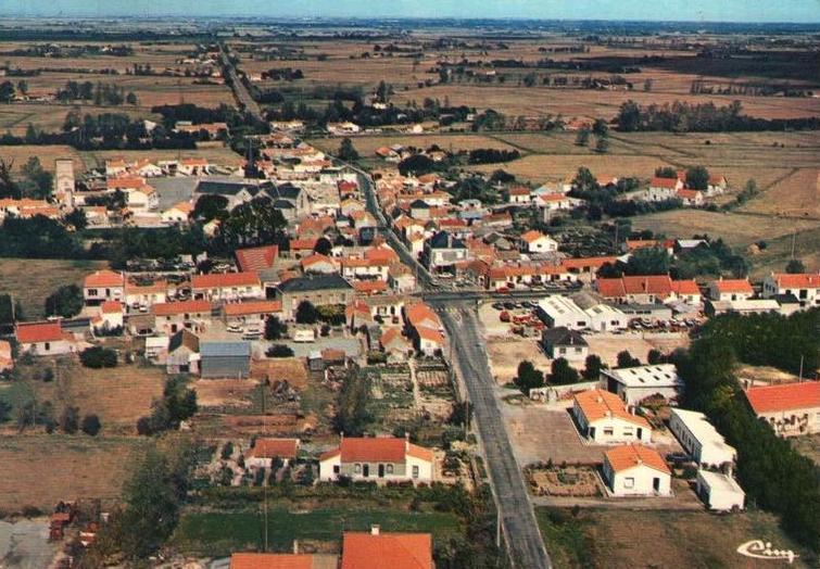 Le Perrier (Vendée) Vue générale CPA