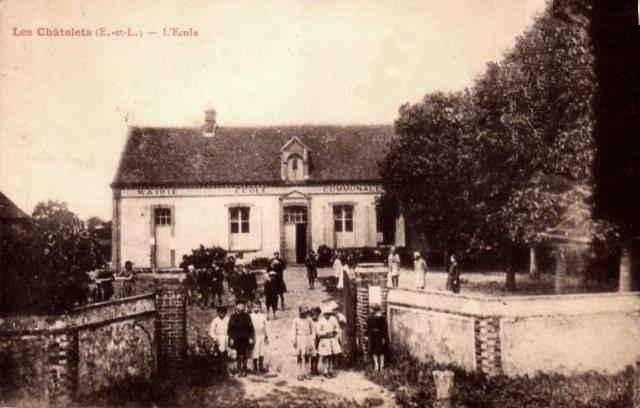 Les Châtelets (28) L'école CPA