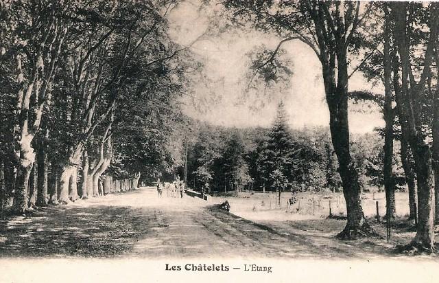 Les Châtelets (28) L'étang CPA