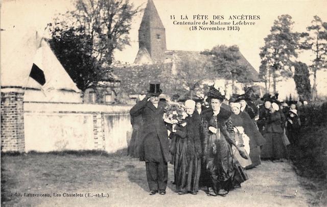 Les Châtelets (28) La fête des anciens CPA