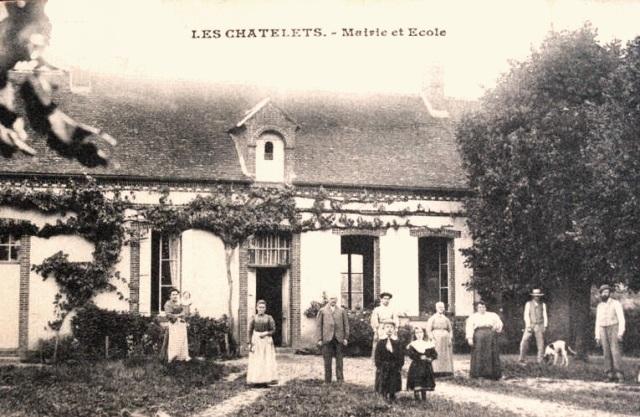 Les Châtelets (28) La mairie-école CPA