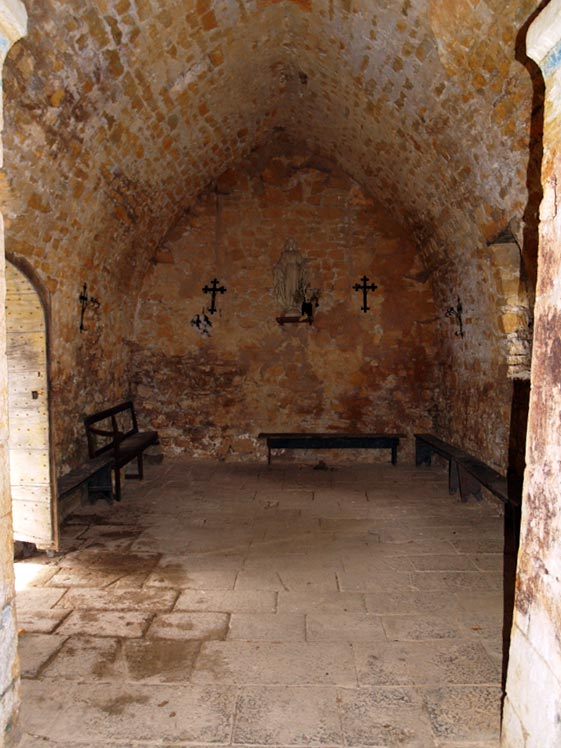 Les Plans (Hérault) La chapelle du Saint Sauveur