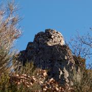 Les Plans (Hérault) Mayres, la tour