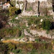 Les Plans (Hérault) Les Plans Haut, vestiges du château