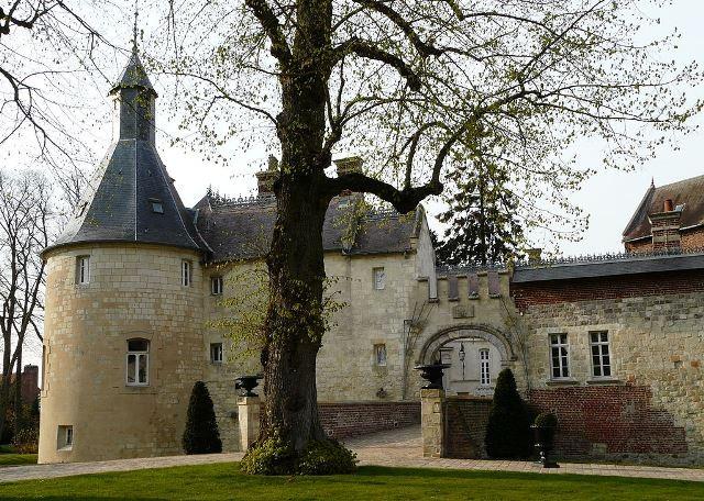 Ligny en cambresis 59 le chateau