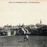 Ligny en cambresis 59 vue panoramique cpa
