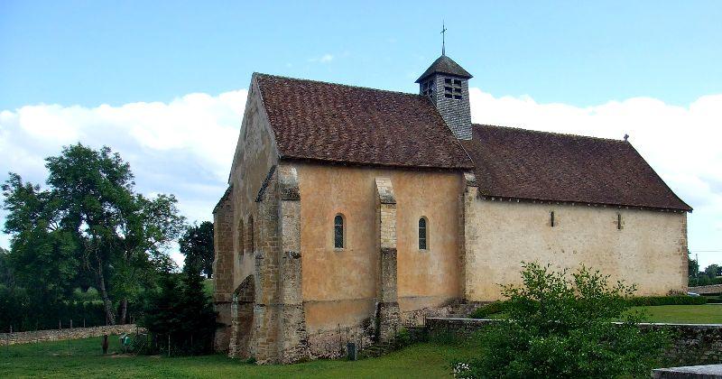 Limanton (Nièvre) Anizy, la chapelle Saint-Martin