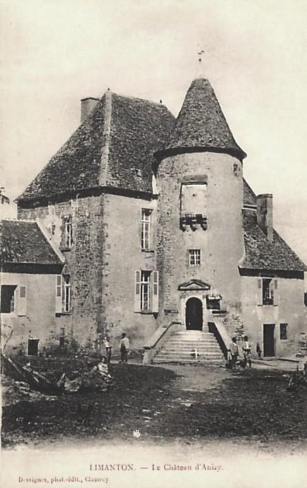 Limanton (Nièvre) Anizy, le château CPA