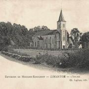 Limanton (Nièvre) L'église Saint-Laurent CPA