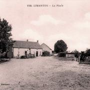 Limanton (Nièvre) La place CPA