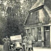 Limpiville (Seine Maritime) Café CPA