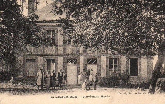 Limpiville (Seine Maritime) Ecole CPA
