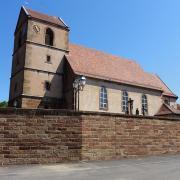 Lochwiller 67 l eglise saint jacques le majeur