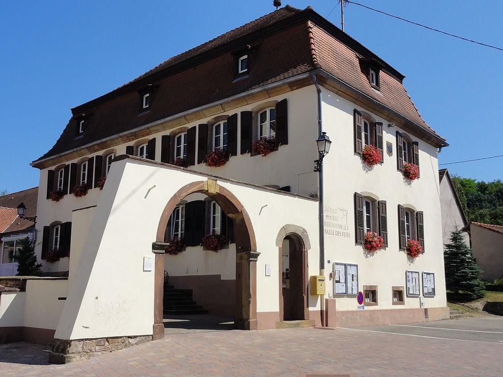 Lochwiller 67 la mairie