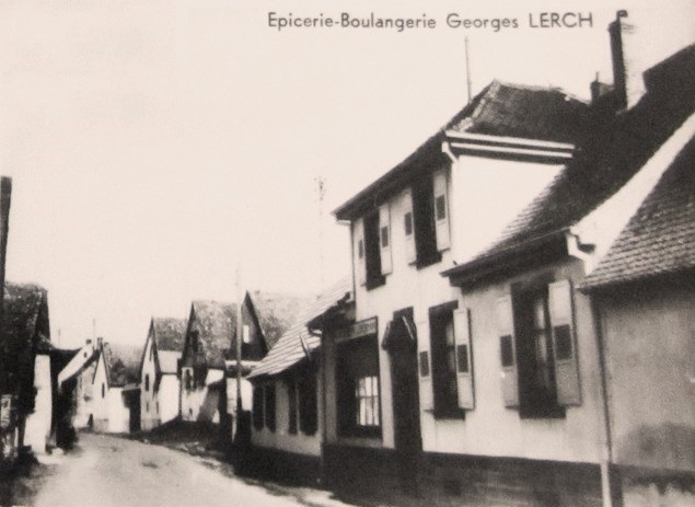 Lochwiller 68 l epicerie boulangerie cpa