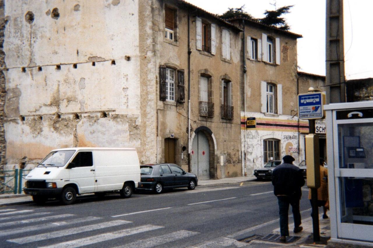 Lodève, le 7 rue Denfert en 2005
