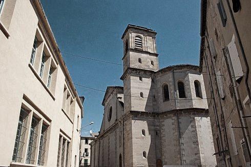 Lodève (Hérault) L'église Saint-Pierre