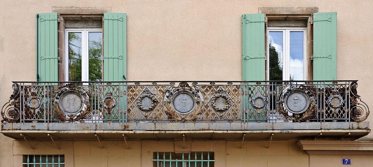 Lodève (Hérault) Le balcon de Cusson