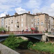 Lodève (Hérault) Le pont de fer