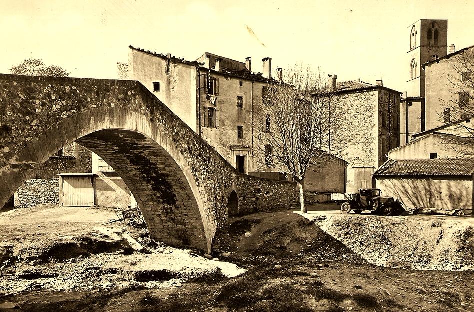Lodève (Hérault) Le pont de la Soulonbre CPA