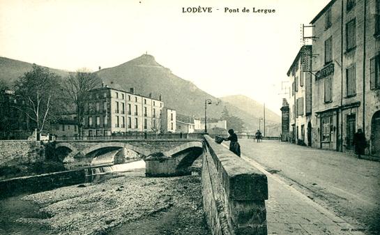 Lodève (Hérault) Le pont de Lergue CPA