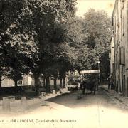Lodève (Hérault) Le quartier de la Bouquerie CPA