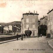 Lodève (Hérault) Le quartier du chemin neuf CPA