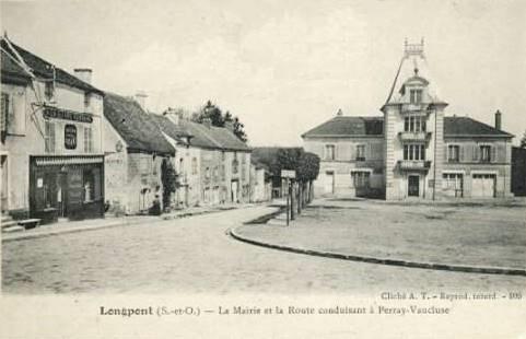 Longpont sur orge essonne la mairie cpa