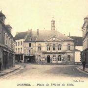 Lormes (Nièvre) L'Hôtel de Ville CPA