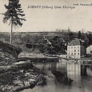 Lormes (Nièvre) L'usine électrique CPA