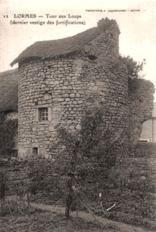Lormes (Nièvre) La Tour aux loups CPA