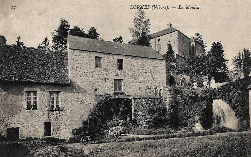 Lormes (Nièvre) Le moulin CPA