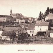 Lormes (Nièvre) Les moulins CPA